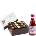18 Chocolate Truffles Purim Gift Box
