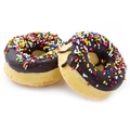 Passover Chocolate Sprinkles Donuts - 5-Count