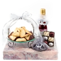 Sleek and Stylish Serving Purim Gift Basket