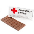 'Emergency Sweets' Humor Chocolate Bar Favor