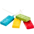 Building Blocks Lollipops - 6 Pack