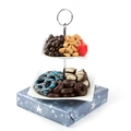 Hanukkah Duo Wave Candy Dish