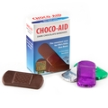 Choco-Aid Dark Chocolate Bandage Box