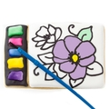 Brilliant All in One Paint a Cookie Kit- Flower