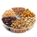 Sweet & Spicy Selection Nut 6-Section Gift Platter