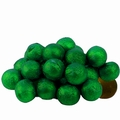 Green Foiled Milk Chocolate Balls