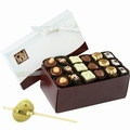 Rosh Hashanah Chocolate Truffle Box - 18 Pc.