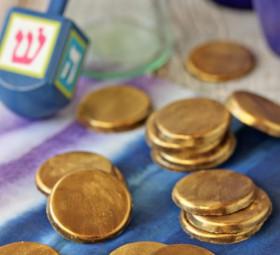 Homemade Hanukkah Gelt