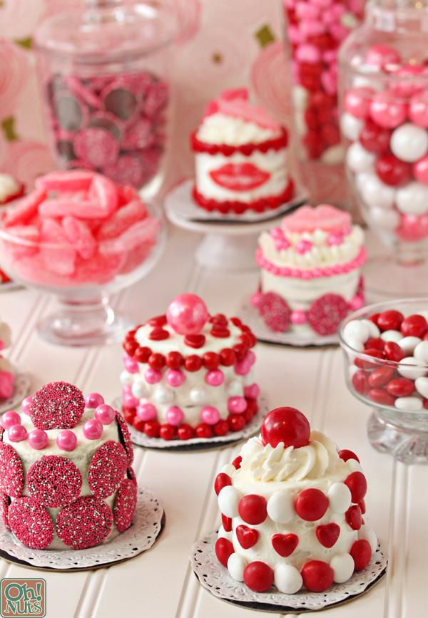Easy Valentine S Day Mini Cakes