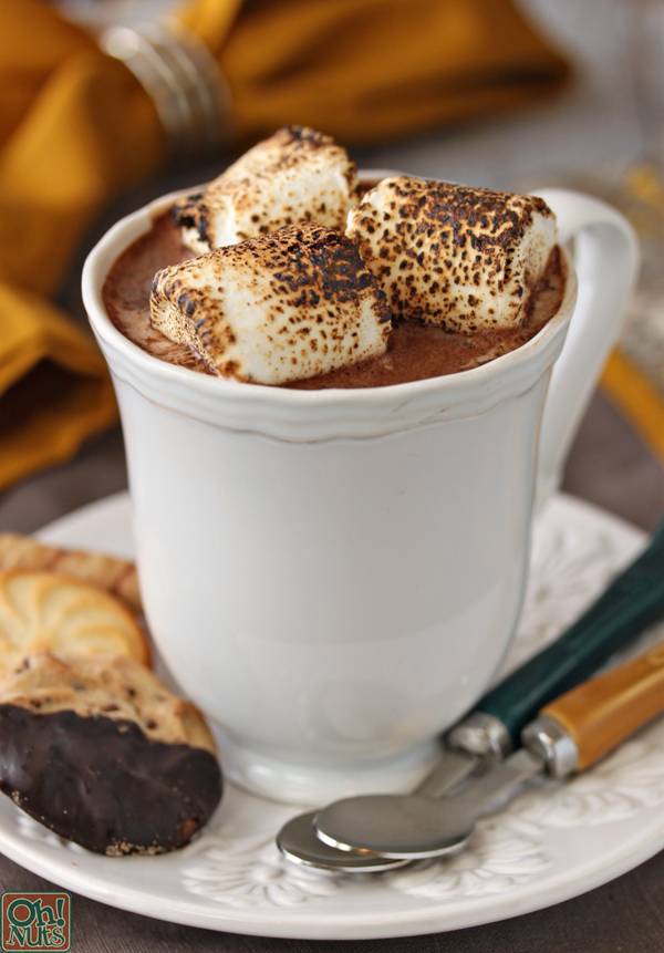 Toasted Marshmallow Hot Chocolate | OhNuts.com