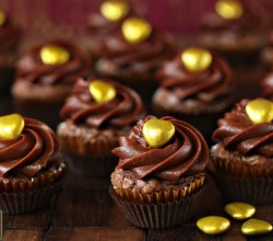 Easy Nutella Cupcakes recipe 4 Ingredients