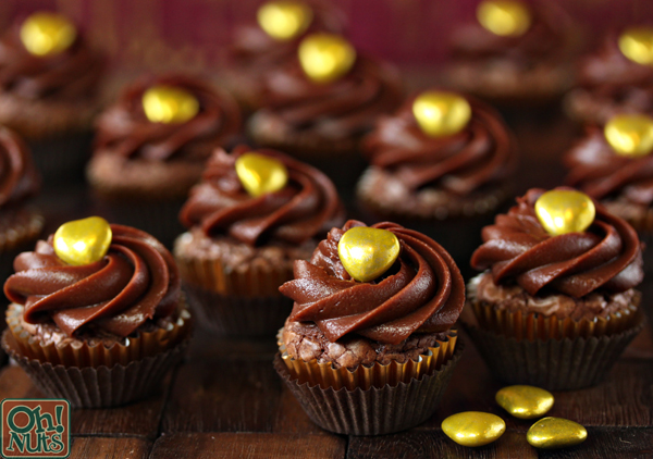 Easy Four-Ingredient Nutella Cupcakes