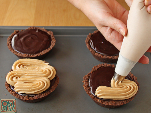 Candy Bar Pies Recipe | OhNuts.com