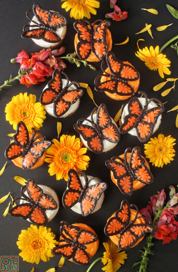 How to Make Chocolate Butterflies Step by Step