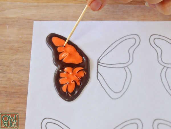 How to Make Chocolate Butterflies | OhNuts.com