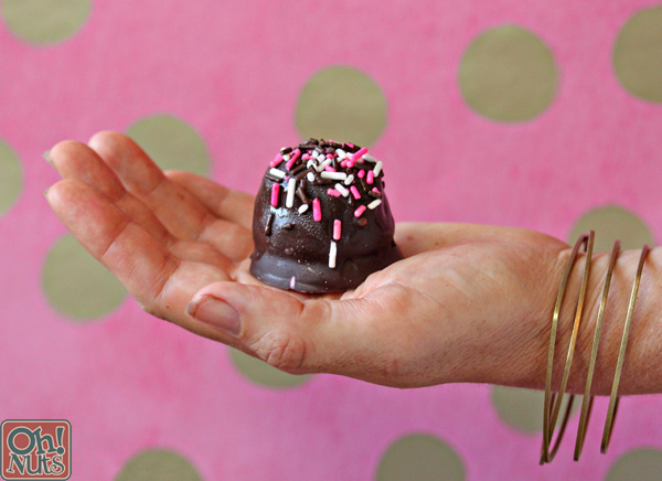 Neapolitan Ice Cream Bonbons | From OhNuts.com