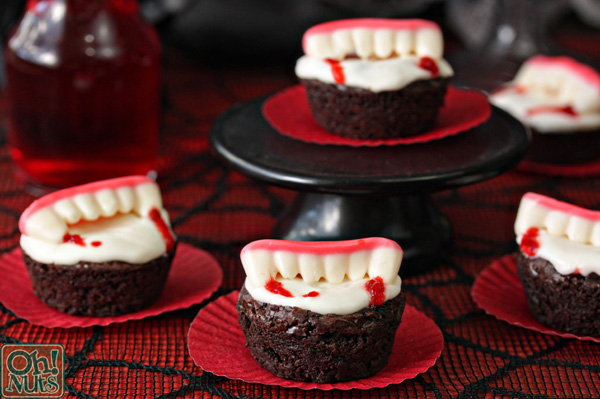 Vampire Bite Brownies | From OhNuts.com