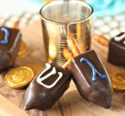 Peanut Butter Fudge Dreidels Recipe
