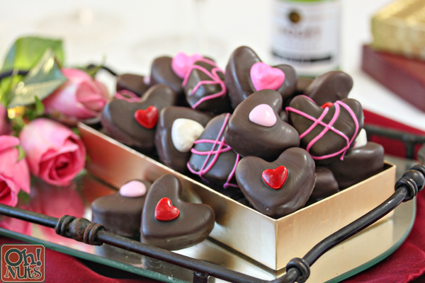 Nutella Candy Hearts | From OhNuts.com