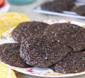 Fudgy Chocolate Cookies for Passover (Gluten Free)