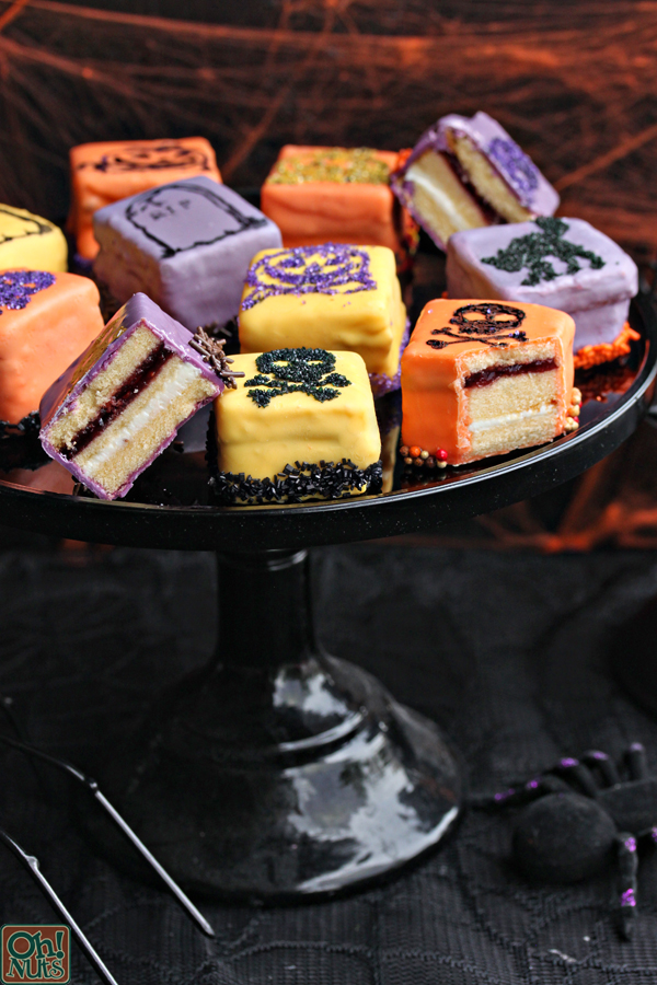 Halloween Petit Fours | From OhNuts.com