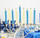 Edible Menorah Candles
