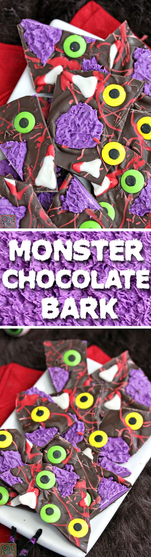 Monster Chocolate Bark | From OhNuts.com