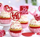 Chocolate Valentine's Day Cupcake Toppers