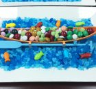 Creative Mishloach Manos Idea : Candy Boats in the Sea